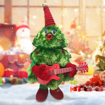 Unique and interesting singing and dancing Christmas tree-you will love it