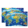 Parenting Underwater World Puzzle 100 Pieces Educational Puzzle Game Toys - MYTONSEE