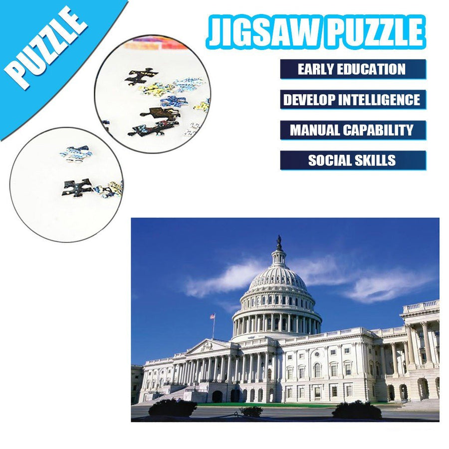 Palaces of interest Jigsaw Puzzles 1000Pcs Landscape Building Puzzle - MYTONSEE