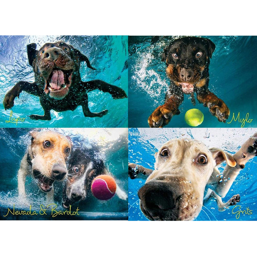 Puppy Diving Jigsaws For Adult Children 1000PC - MYTONSEE