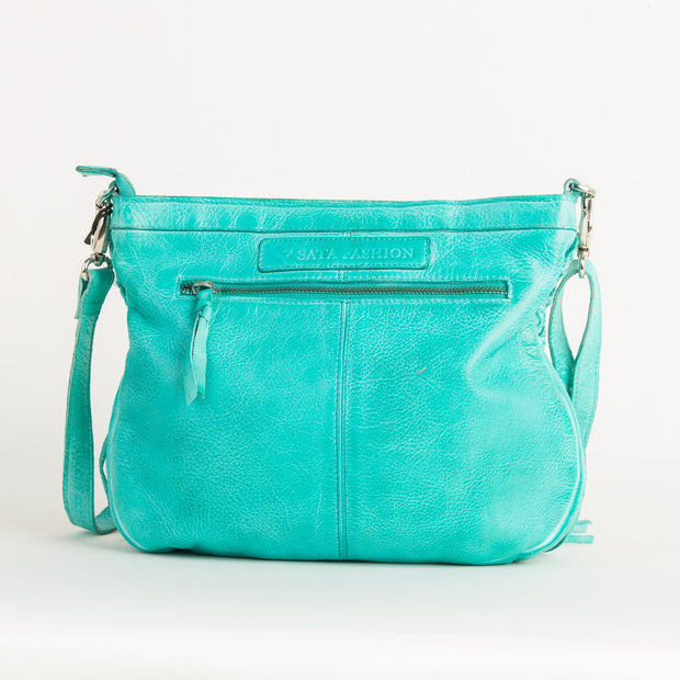 Leather Sata Crossbody - Asalee West™