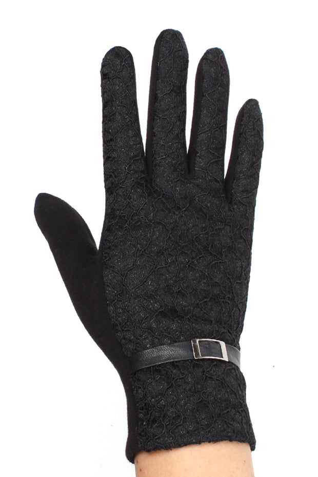 Womens Lace Touch Screen Gloves - Asalee West™