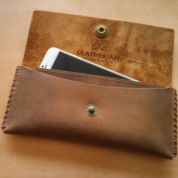 Women's Wallet AWA21 Leather Checkbook - Asalee West™