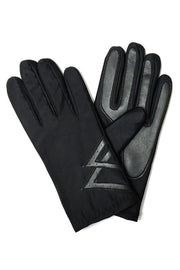 Mens Stretchy Faux Leather Driving Gloves - Asalee West™