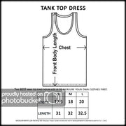 Women's USA Flag 3D Summer Tank Dress Swimwear Cover-Up - Asalee West™