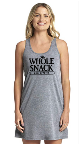 SNACK racerback tank dress