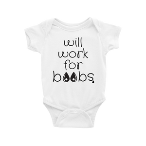 Will Work For Boobs