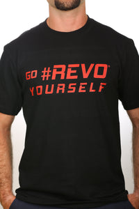 revo t shirt revolifestyle revobeard revohair revogoatee beard goatee hair haircut styles styler tool guide stencil outline template edge up barber barbershop tools. man men boy male handsome. razor blade trimmer trim groom grooming straught edge curve cut step cut neckline. facial line up earline taper line side part save money time
