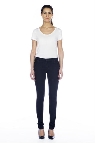 Yoga Jeans High Rise Skinny in Rinse Indigo