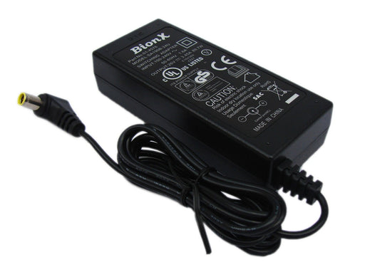 Charger (Power Supply) 90W-26V-3.45A for all 48V batteries. Right angle plug.