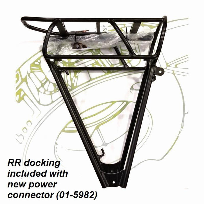 RackTime Rear Rack & Docking Station - New Power Connector