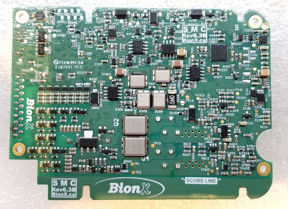 BionX, BMS PCB Assembly, SMC6.3, for 48V batteries, with fixed bottom section - 01-4813