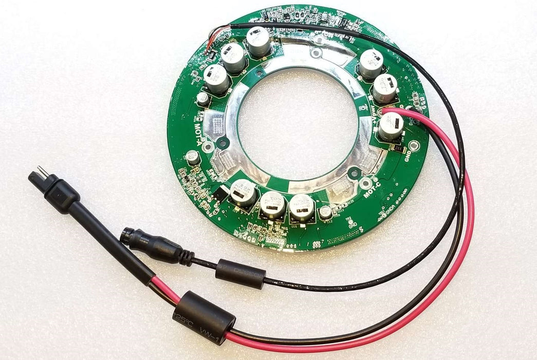 BionX Motor PCB Assembly with wires, IGH_V1.3b, for D-Series motors.
