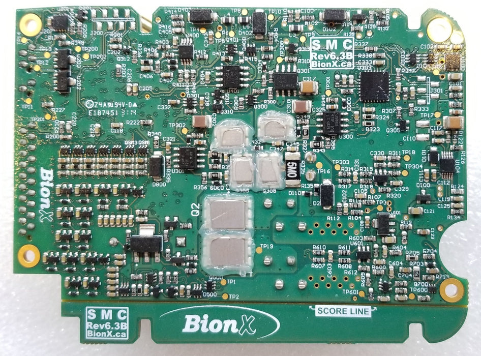 BionX, BMS PCB Assembly, SMC6.3, for 48V batteries, with removable scoreline - 01-4813