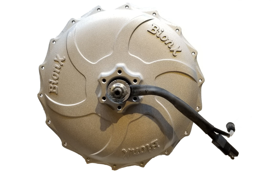 BionX PL-Series motor (G2) - 350W, 300RPM, FREEWHEEL, 36 Spokes, Classic Power Connector, 01-3715 & 01-3549