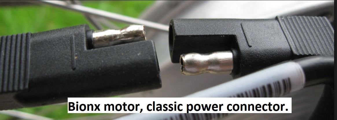 "Motor extension, power and communication cables, 200mm (7 7/8""). Classic power connector"