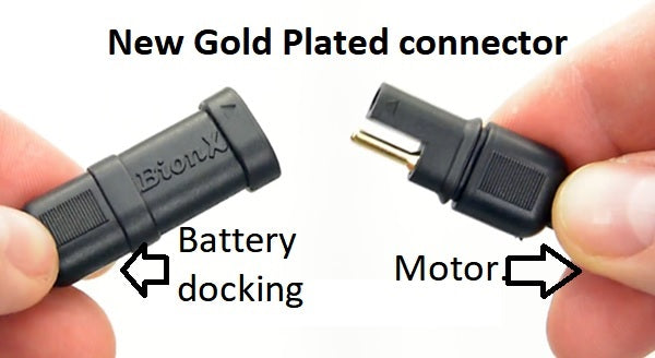 Battery dock for DL battery only, With DC ouput jack. New gold connector.