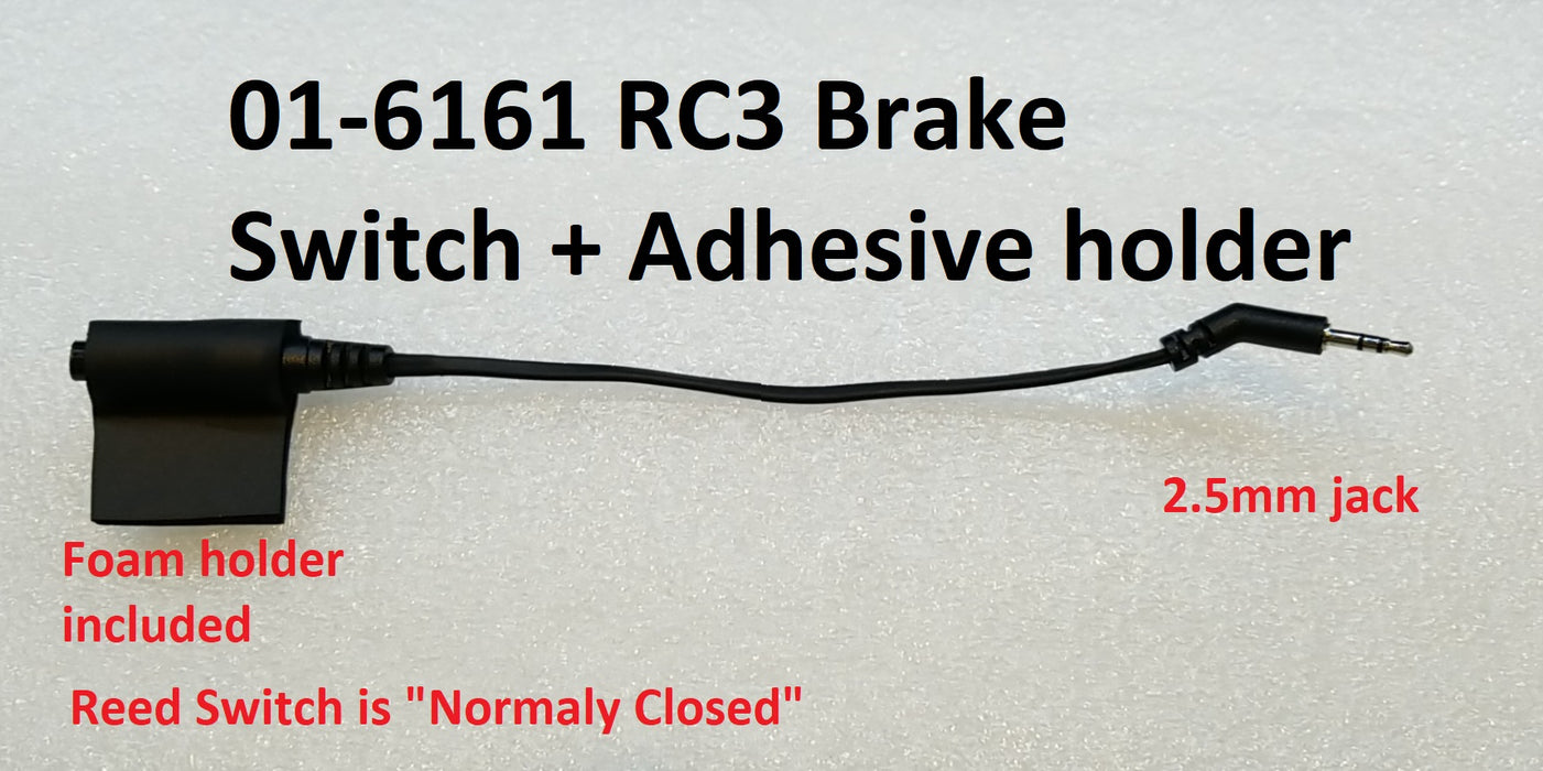 RC3 brake switch. 2.5mm connector, NC