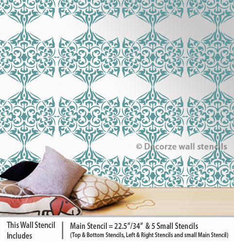 Online stores of wall stencils USA