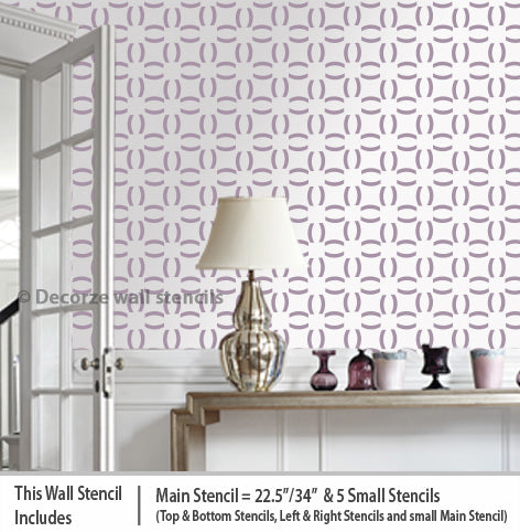 Reusable stencils for wall painting USA