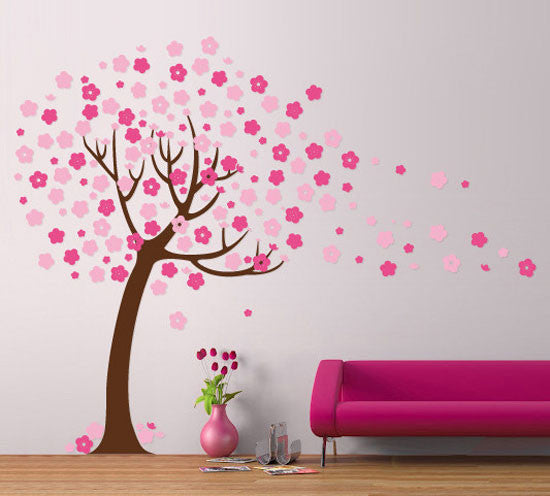 Nursery Wall Tree Stencil