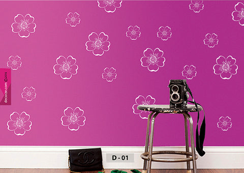 Wall Painting ideas living room, D-01