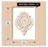 Indian Paisley/Motif Stencil, MWS-30