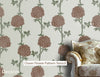 Clover Flower Pattern Stencil for wall decor