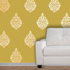 Paisley | Motif | Paisley Pattern | wall stencils | indian designs | wall stencil design