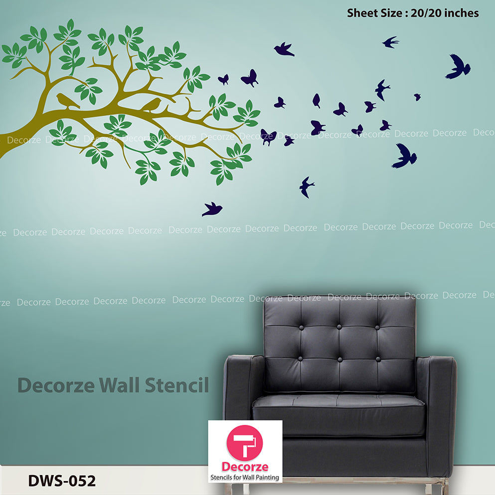 Interior wall Designs | Living Room Painting Ideas DWS - 052