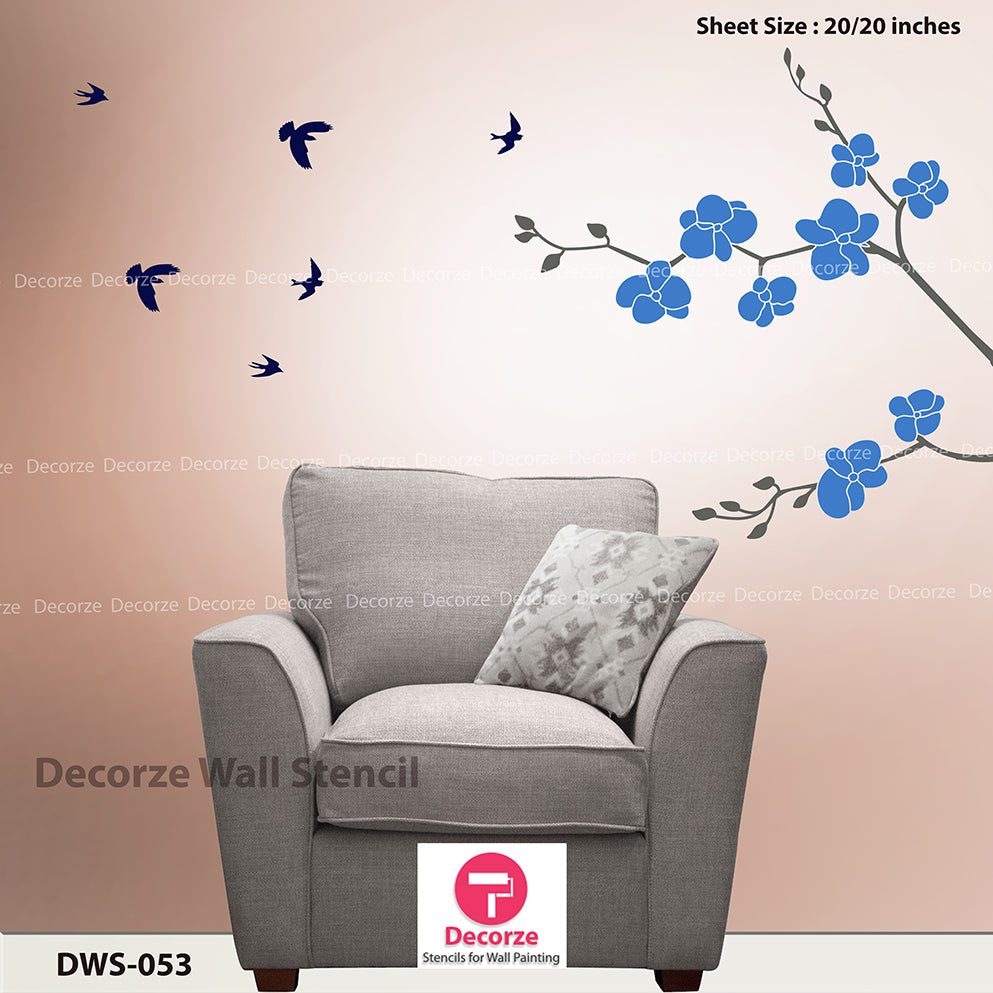 Bedroom Wall Painting Ideas Bedroom Wall Painting Designs 053 Reusable Wall Painting Stencils