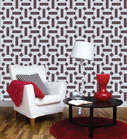 stencil wall paint for home decore