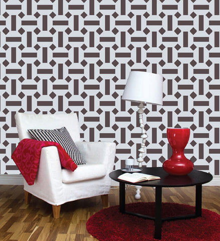 Stencil wall painting for home, GS-21