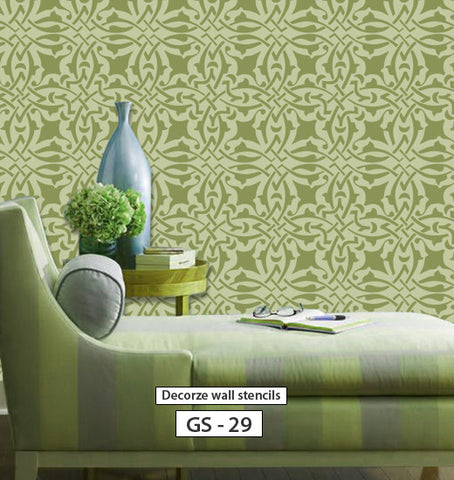Geometric Wall Painting Design, GS 29 Part 52