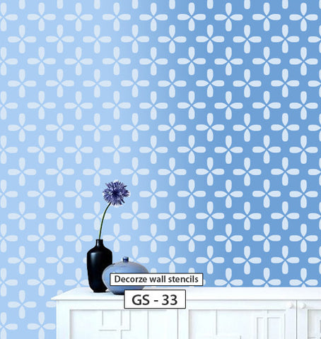 Home decorating wall painting, Geometric stencil, GS-33