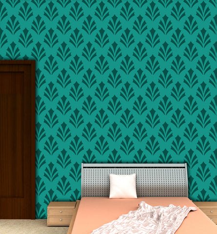 wall decoration with stencil design, GS-08