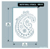 Indian Paisley/Motif Stencil, MM-03