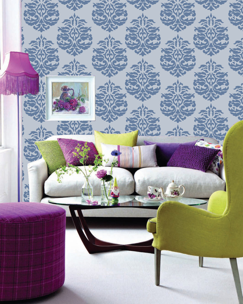 wall stencils for home design