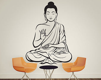 Buddha Wall Stencil For DIY ART