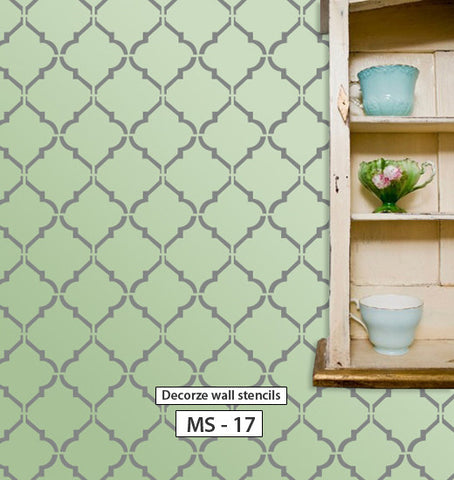 DIY home stencil design, MS-17