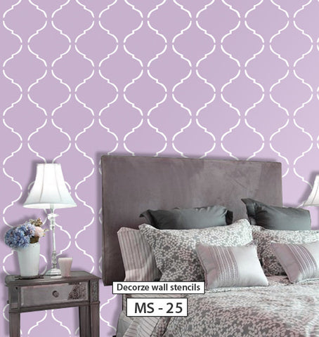 DIY decor wall stencil, MS-25