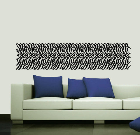 Zebra Stripe Stencil Repeatable - 02