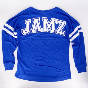 Blue Jersey Long Sleeve T-Shirt
