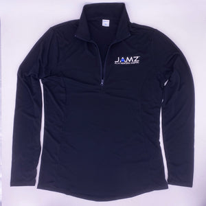 JAMZ Mens Black 1/4 Zip Pullover