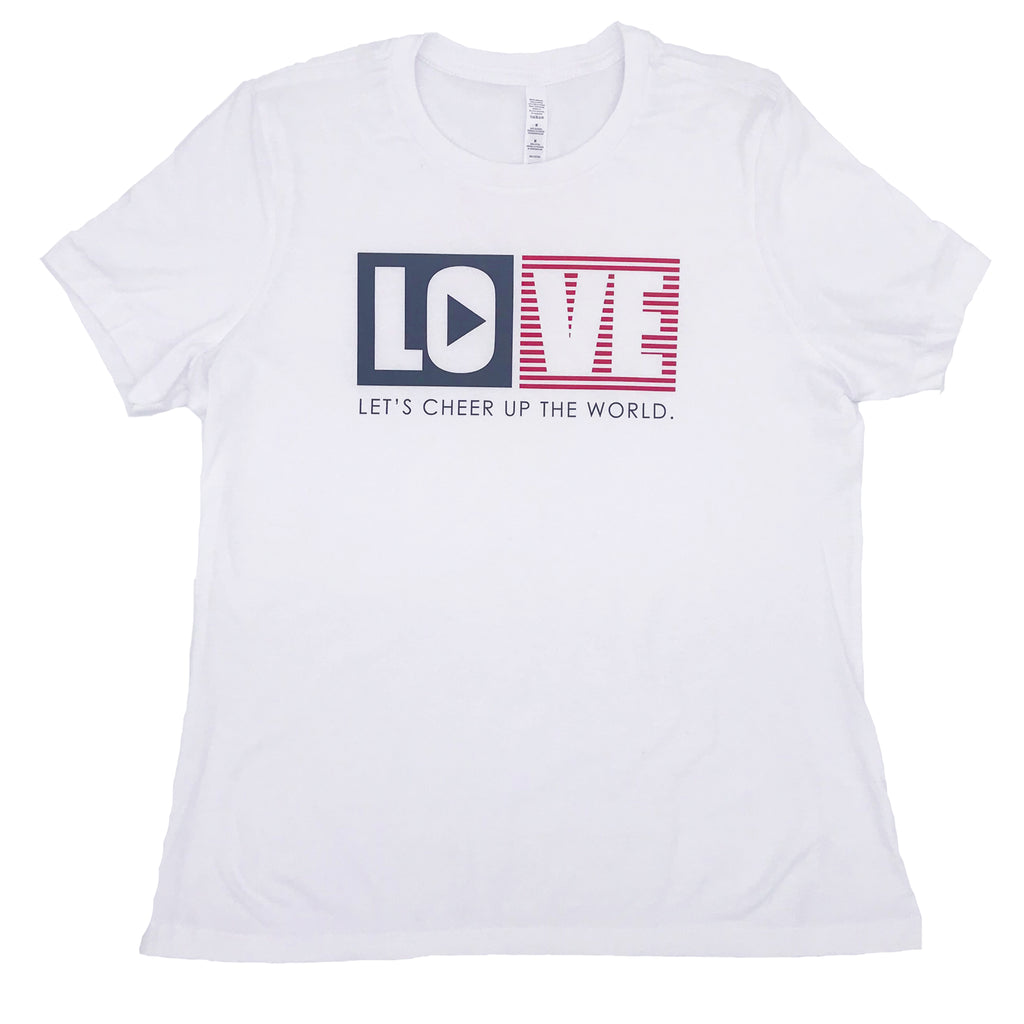 LOVE - Let's Cheer Up the World T-Shirt
