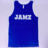 Royal Blue Unisex Summer Foil Tank Top