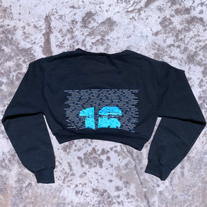 Vintage Nationals Cropped Crew Neck Sweatshirt 2016