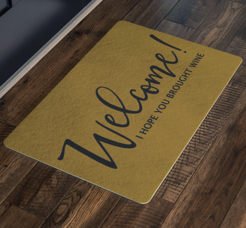 Welcome Doormat.