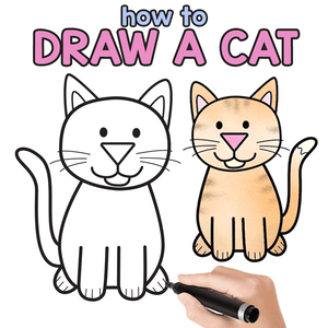 How to Draw a Chat Easily?