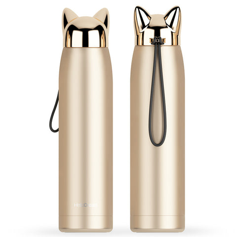 Cat Coffee Thermos - Fashion Cat Design